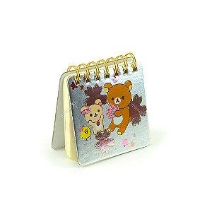 Caderneta Ursinhos, Pintinho e Flores