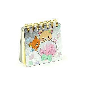 Caderneta Ursinhos e Concha
