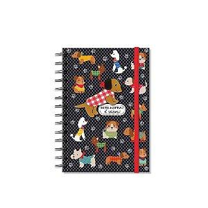 Caderno Médio Decorado Cachorrinhos