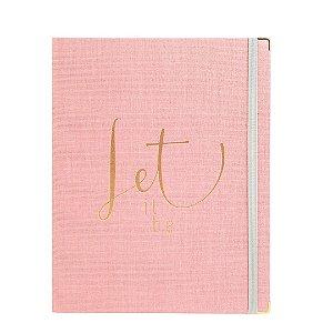 Caderno Fichário SF Cotton Rosa Ultra