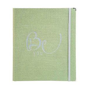 Caderno Fichário SF Cotton Verde Grande