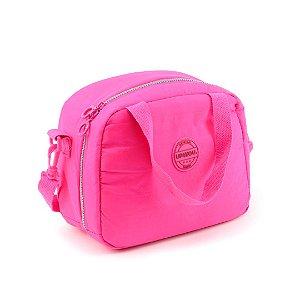 Lancheira Térmica Crinkle Básica Pink