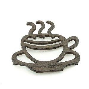 Suporte Panela de Ferro Café Marrom