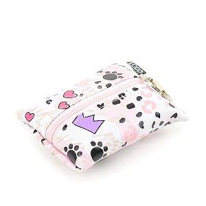 Eco Bag Dobrável Miau Gato Rosa