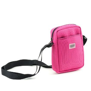 Bolsa Transversal de Tecido Esportivo Rosa