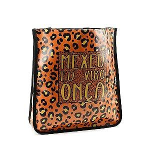 Bolsa Sacola Bag Onça