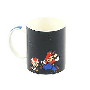 Caneca Mágica Super Mario e Bowser