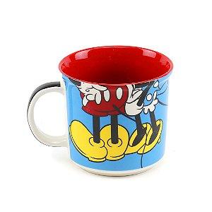 Caneca de Cerâmica Decorativa Mickey & Minnie