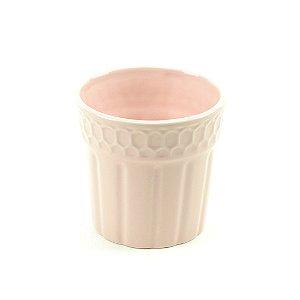Cachepô de Cerâmica Rosa