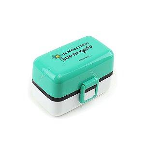 Marmita Lunch Box 3 Compartimentos Bem-Me-Quero