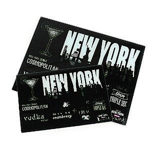 Kit de Cozinha 2 Tábuas de Corte em Vidro Temperado Nova York