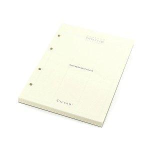 Refil Caderno Argolado Criativo Cicero Planner Semanal Pólen