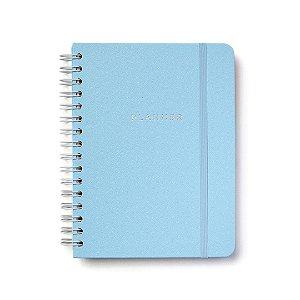 Planner Semanal Wire-o Azul Pastel