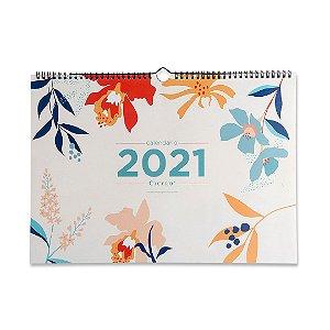 Calendário 2021 de Parede Pólen