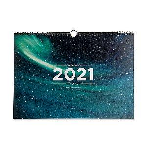Calendário 2021 de Parede Astral