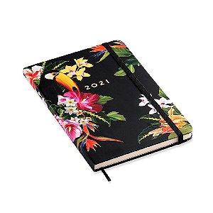 Agenda 2021 Planner Semanal Anotações Ciceros Tropical Fauna