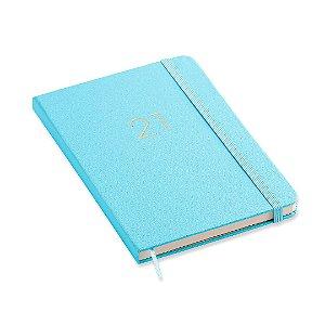 Agenda 2021 Planner Semanal Ciceros Azul Pastel