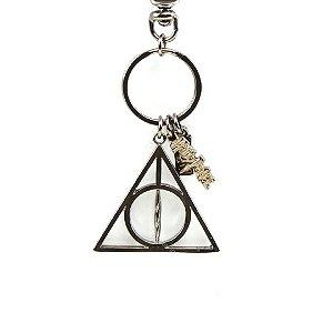 Chaveiro Harry Potter Relíquias da Morte