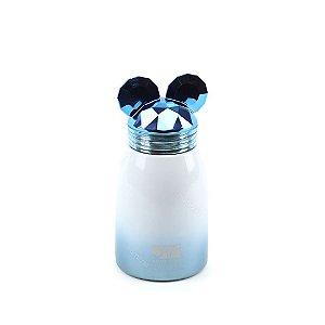 Garrafa Térmica de Inox a Vácuo Ratinho Azul
