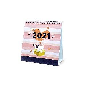 Calendário de Mesa 2021 Cats