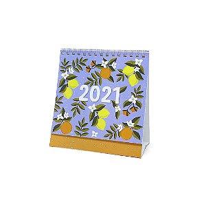 Calendário de Mesa 2021 Cítrica