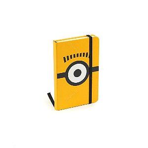 Caderneta com Elástico Minions Amarela