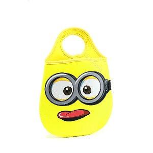 Lixeira de Carro Minions Amarela