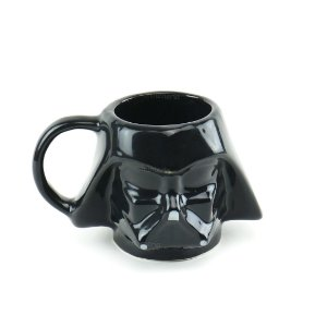 Caneca de Porcelana Decorativa 3D Star Wars Darth Vader