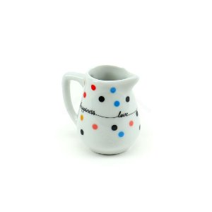 Mini Jarra de Porcelana Mini Dots