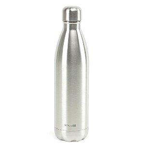 Garrafa Térmica de Inox Parede Dupla 500 ml Prata Classic