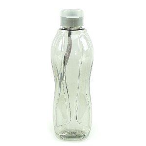 Squeeze Plástico Cinza 800 ml