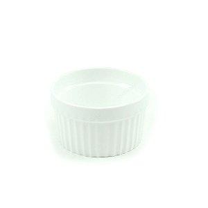 Ramequim de Porcelana Branco Pequeno