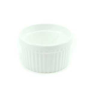 Ramequim de Porcelana Branco Médio