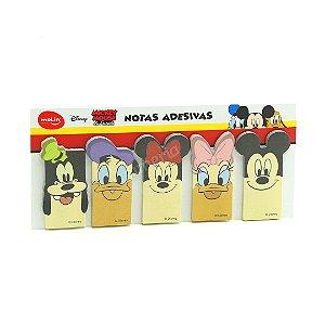 Bloco de Marcadores de Páginas Adesivos Turma do Mickey