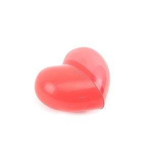 Apontador com Depósito e Borracha Coração Vermelho