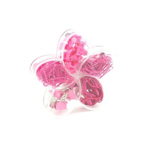 Kit Escritório Flor de Lotus Pink