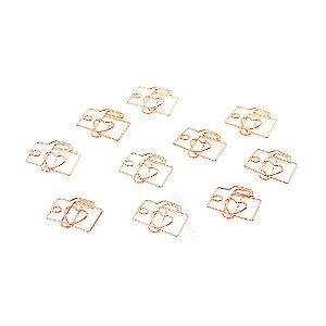 Clipes de Papel Câmera com 12 Unidades