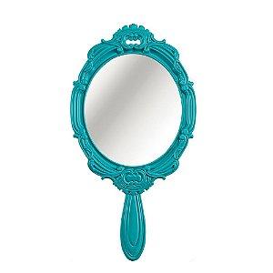 Espelho Decorativo Princess Turquesa