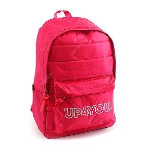 Mochila Escolar Básica Pink