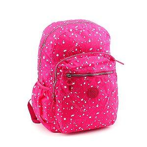 Mochila para Notebook Crinkle Manchinhas Pink