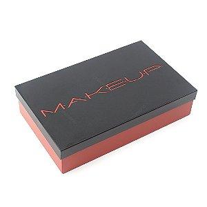Caixa de Maquiagem em Aço Makeup Terracota