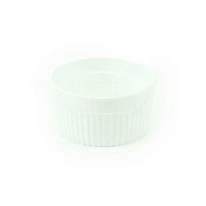 Ramequim de Porcelana Branco Mini