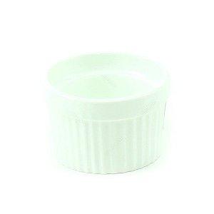 Ramequim de Porcelana Branco Grande