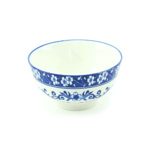 Bowl de Porcelana Blue Garden Médio