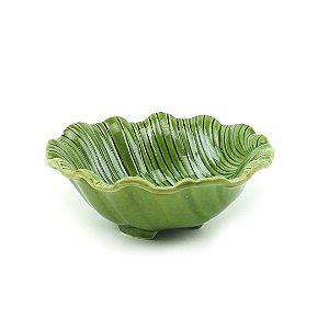 Bowl de Cerâmica Folha Pequeno