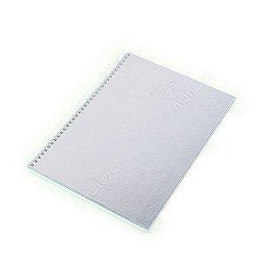 Caderno Universitário 80 Folhas Shine Lilás