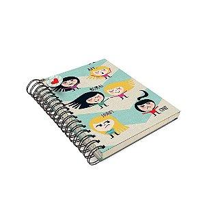 Caderno de Anotação Humores Da Maria - Tecido