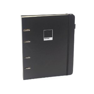 Caderno Criativo Argolado Pantone Preto