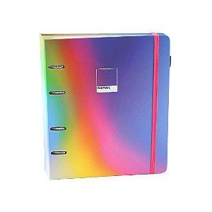 Caderno Criativo Argolado Pantone Degradê Neon