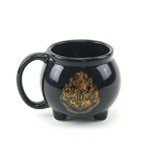 Caneca Decorativa de Porcelana 3D Harry Potter Caldeirão